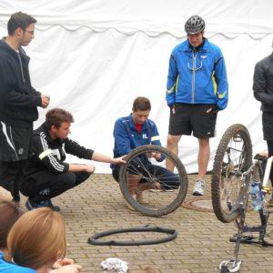 Mountain-Biking-Kurs an der BBS Springe